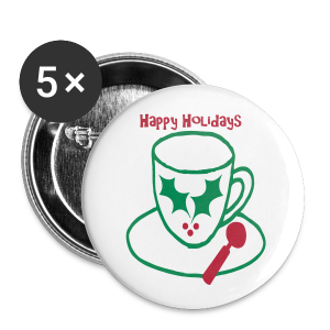 Holiday Cheer - Large Buttons