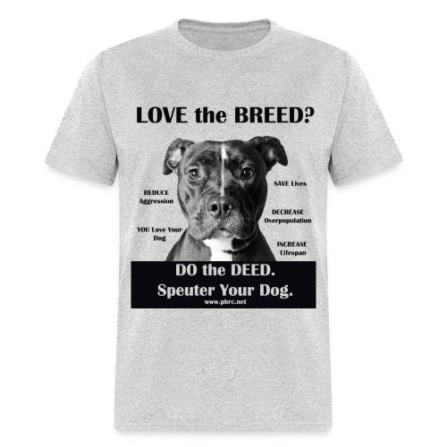 Love the Breed? Men's T-Shirt - Men's T-Shirt