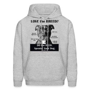 Love the Breed? Hoodie - Men's Hoodie