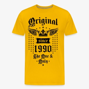 Original Since 1990 The One and Only Crown Wings T-Shirt - Men's Premium T-Shirt