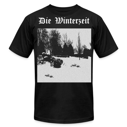 Infinite Winter Timeloop black - Men's Fine Jersey T-Shirt