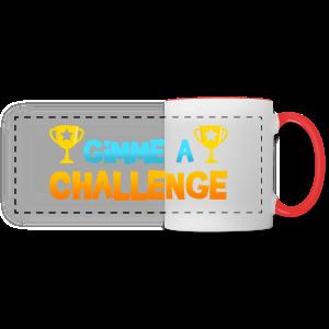 Gimme a Challenge Mug - Panoramic Mug