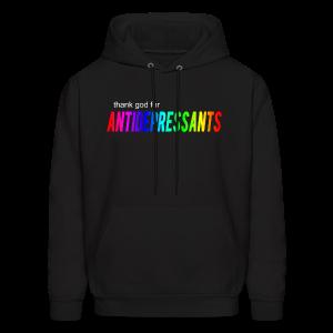 Thank god for Antidepressants Hoodie - Men's Hoodie