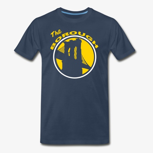 The Borough GSW color way - Men's Premium T-Shirt