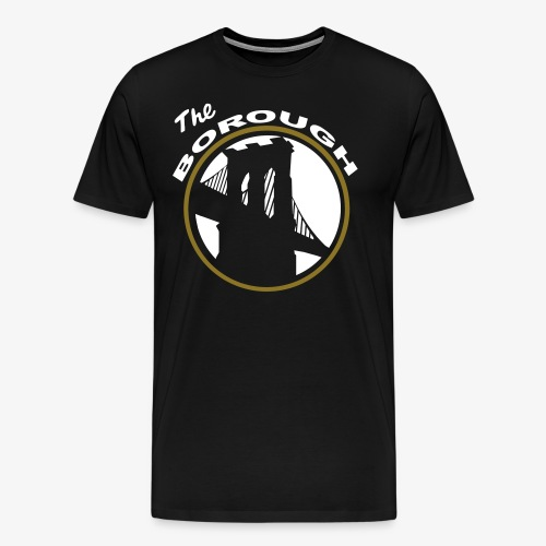 The Borough BK NETS color way - Men's Premium T-Shirt