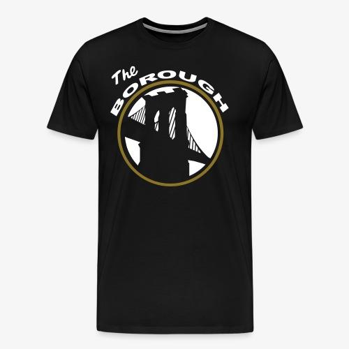 The Borough BK NETS color way - Men's Premium T-Shirt