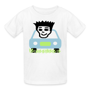 Curzing in the yard - Kids' T-Shirt