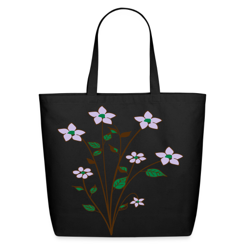 spring flower bunch - Eco-Friendly Cotton Tote