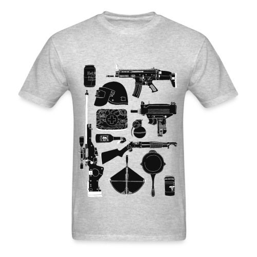 PUBG Guns - Men's T-Shirt