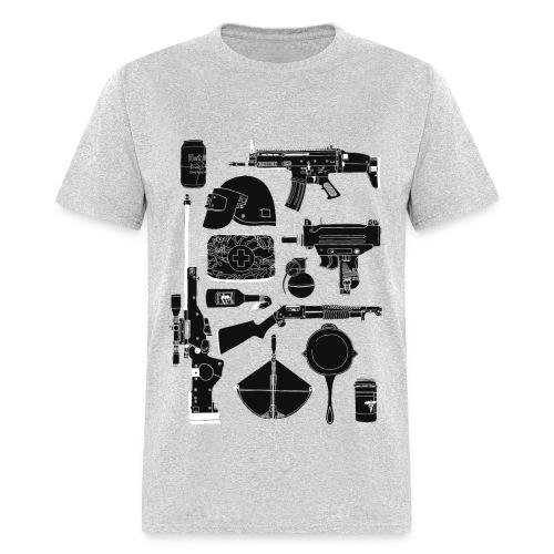PUBG Guns - Men's T-Shirt