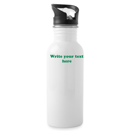 Personalized Water Bottle - White - Water Bottle