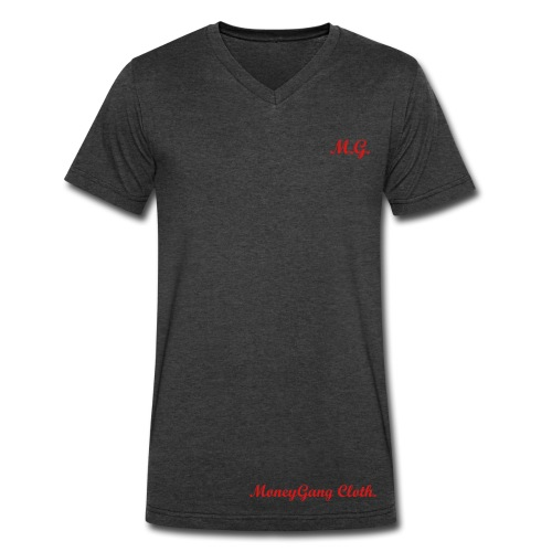 MoneyGang Tee - Men's V-Neck T-Shirt by Canvas