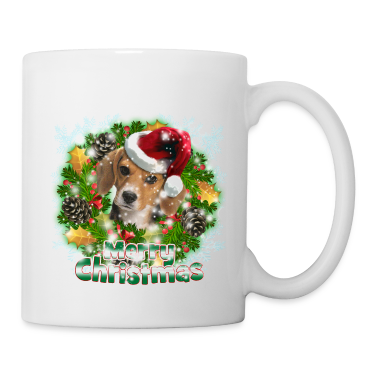 Merry Christmas Beagle Accessories