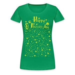 Happy st.Patrick's day Women's Premium T-Shirt - Women's Premium T-Shirt