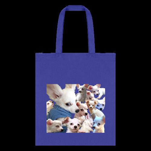 Piggie Pup Tote Bag - Tote Bag