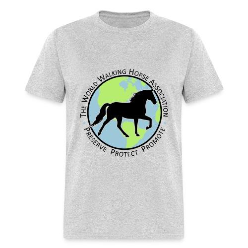 Men's Grey Tee w/ Seal Logo - Men's T-Shirt
