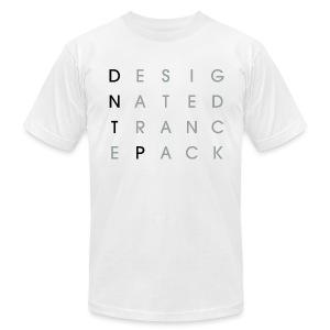 Grid (Black/Gray) - Male - Men's Fine Jersey T-Shirt