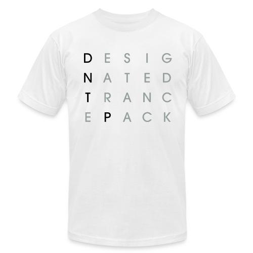Grid (Black/Gray) - Male - Men's  Jersey T-Shirt