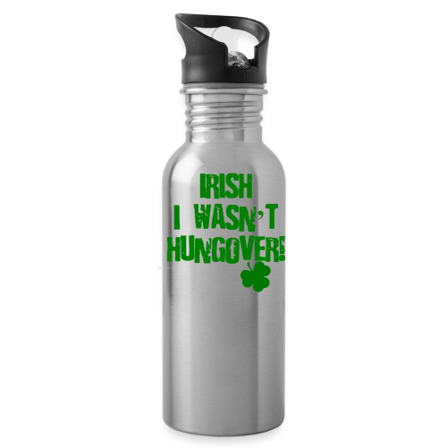 Irish I Wasn't Hungover Water Bottle  - Water Bottle