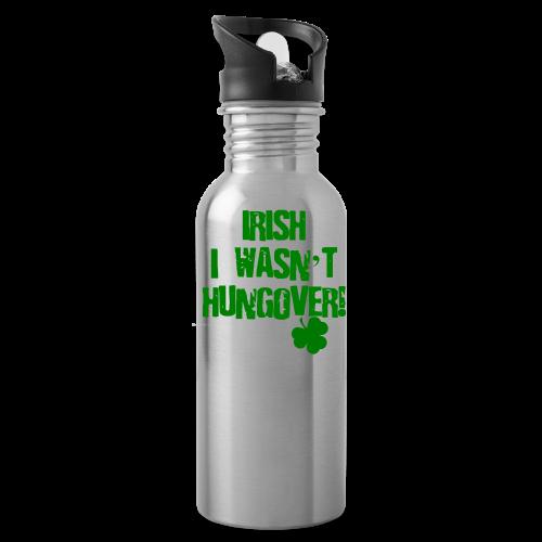 Irish I Wasn't Hungover Water Bottle  - Water Bottle