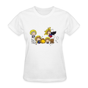 Chibi Church -The Evangelists (Women's) - Women's T-Shirt