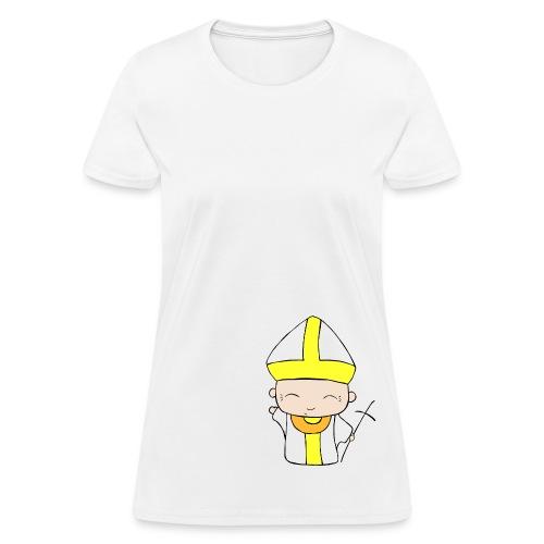 Chibi Church - St. John Paul II (Women's) - Women's T-Shirt