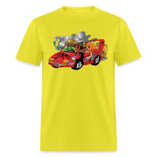 stamp tiedye - Men's T-Shirt