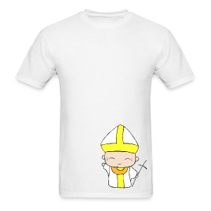 Chibi Church - St. John Paul II - Men's T-Shirt