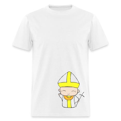 Chibi Church - St. John Paul II - Men's T-Shirt