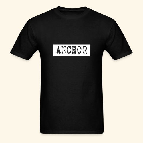 Anchor Grunge T-Shirt - Men's T-Shirt