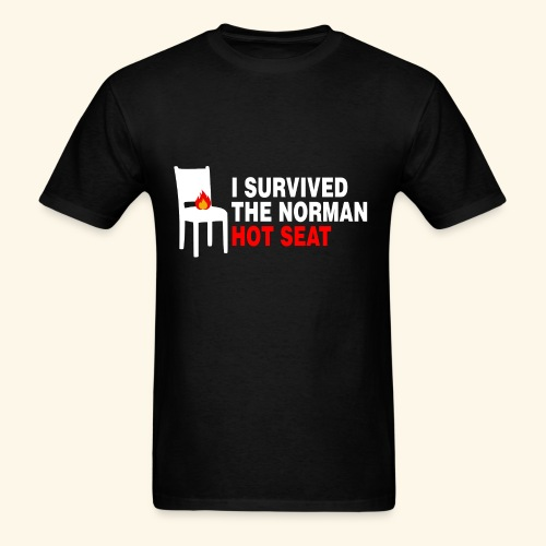 I survived the Norman Hot Seat - Men's T-Shirt