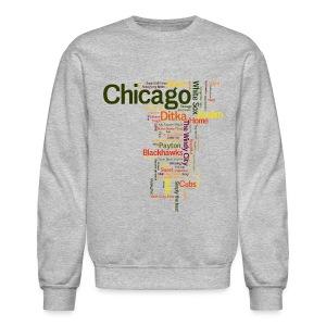 Chicago Words - Crewneck Sweatshirt