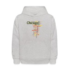 Chicago Words - Kids' Hoodie