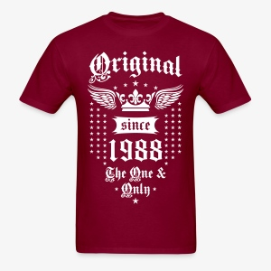 Original Since 1988 The One and Only Crown Wings T-Shirt - Men's T-Shirt