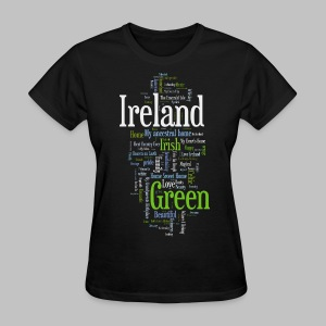 Ireland Words - Women's T-Shirt