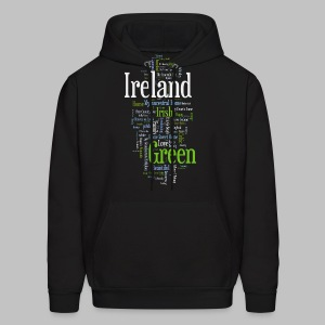 Ireland Words - Men's Hoodie