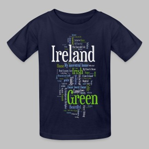 Ireland Words - Kids' T-Shirt