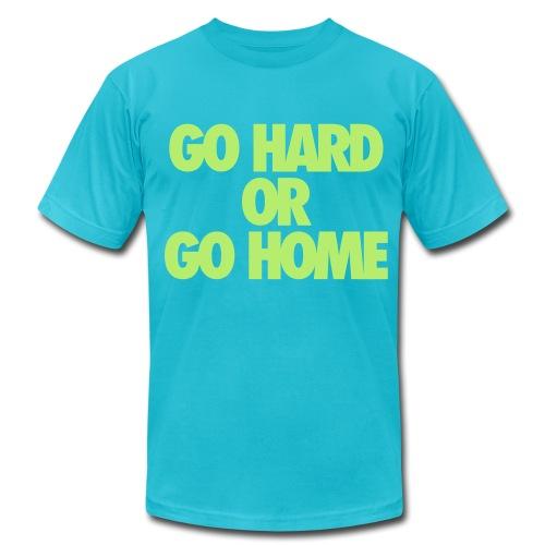 Go Hard - Men's  Jersey T-Shirt