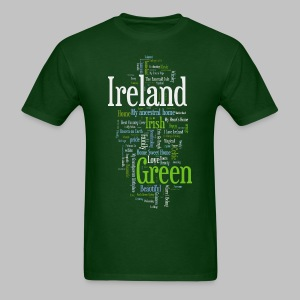Ireland Words - Men's T-Shirt