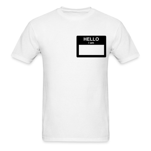 My Name Is.... - Men's T-Shirt