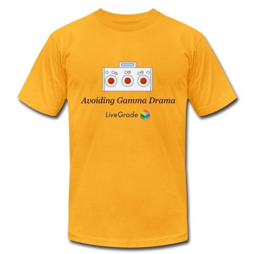 Gamma Drama (gold) - Men's Fine Jersey T-Shirt