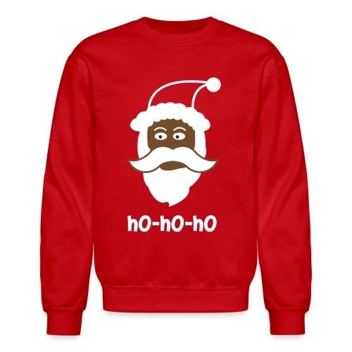 Black Santa Sweater - Ho Ho Ho - Crewneck Sweatshirt