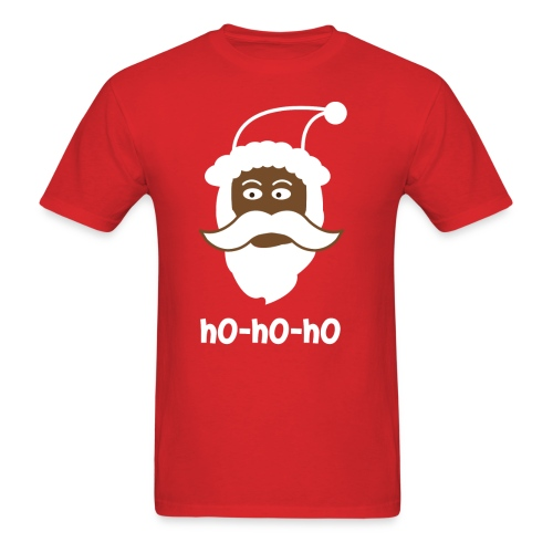 Black Santa Shirt - Ho Ho Ho - Men's T-Shirt
