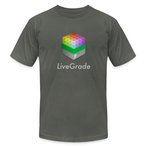 LiveGrade (grey)  - Men's  Jersey T-Shirt
