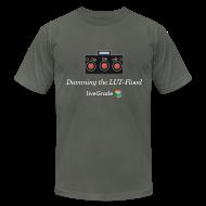 T-Shirts ~ Men's T-Shirt by American Apparel ~ LUT Flood (grey)