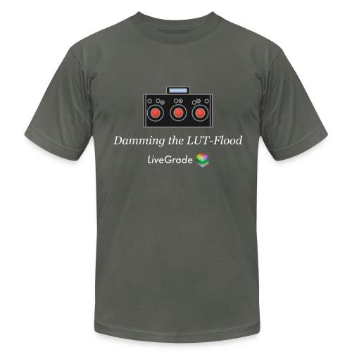 LUT Flood (grey) - Men's  Jersey T-Shirt