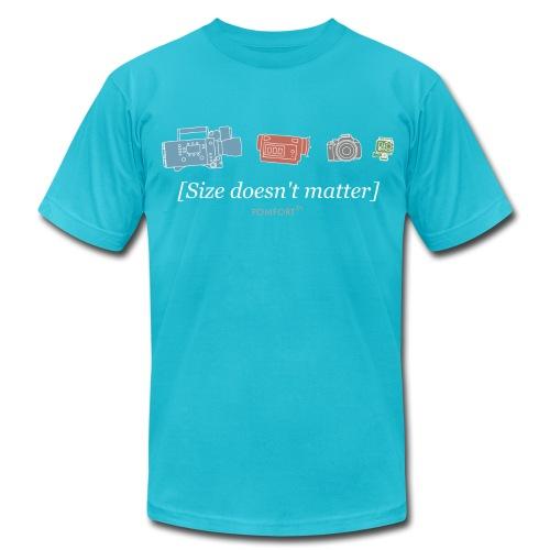 Size doesn't matter (gold) - Men's  Jersey T-Shirt