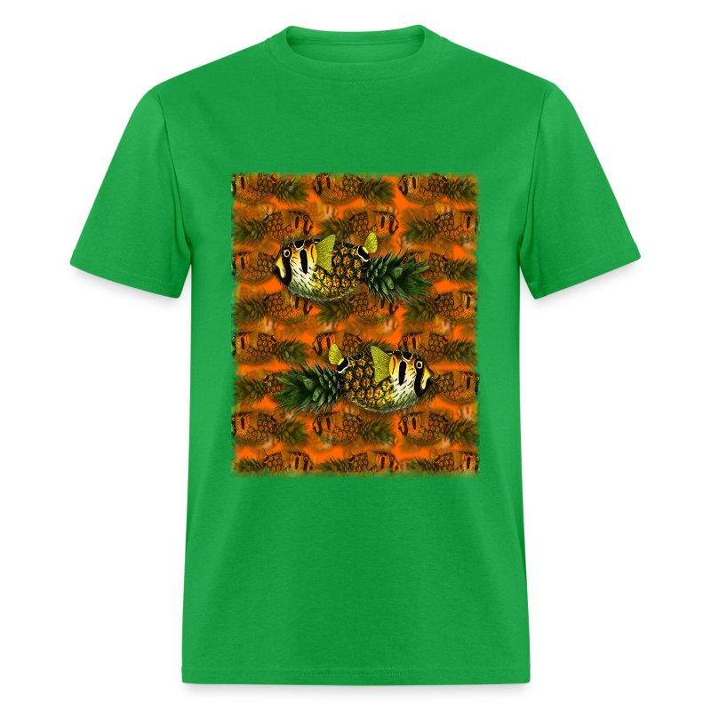 pppfff! Pineapple Puffer Phish - Men's T-Shirt