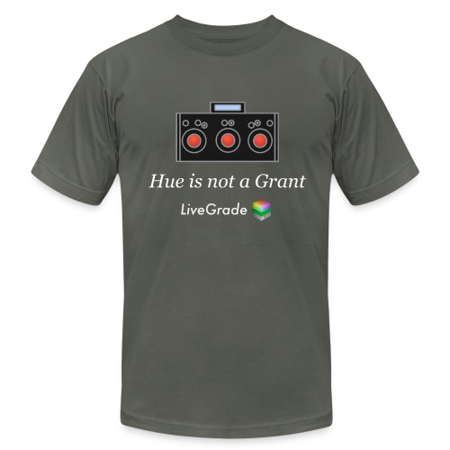 Hue Grant (grey) - Men's Fine Jersey T-Shirt