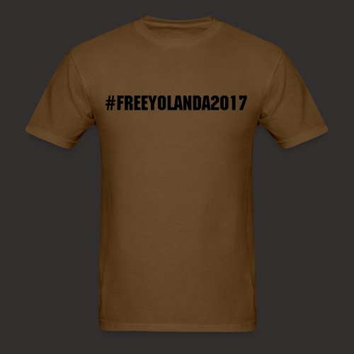 #FREEYOLANDA2017 Shirt - Men's T-Shirt